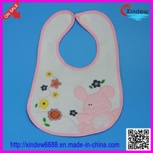 Baby′s Printed +Embroidered Bib pictures & photos