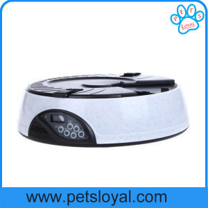 Manufacturer 4 Meal Electronic Automatic Pet Dog Bowl Feeder pictures & photos