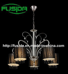 2014 New Modern Line Cloth Chandelier Lighting (D-8163/5) pictures & photos