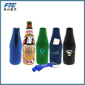 Beer Can Holder with Beer Opener for Promotional Gift pictures & photos