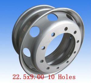 ISO SGS Certificated Truck aluminium Alloy Rim 22.5X9.00 14mm (12R22.5 315/80R22.5)