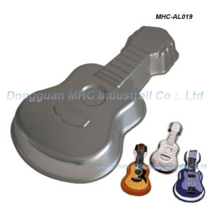 Guitar Shape Microwave Safe Baking Pan Set Cake Mold