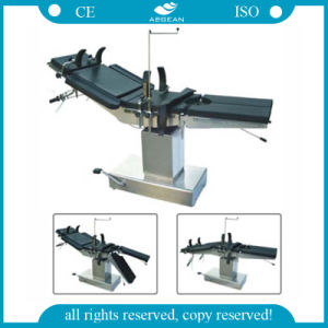 AG-Ot004 with Stainless Table Base Hydraulic ISO&CE Medical Table pictures & photos