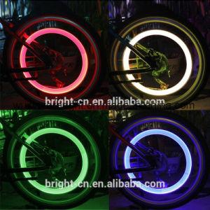 Wheel Tire Light Spoke Flashing Lamp Valve Cap Wheel Tire Light pictures & photos