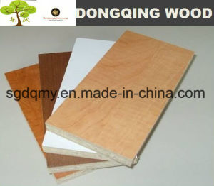 Embossed /Matt /Smooth Finish Cherry Melamine MDF Board with Lower Price pictures & photos