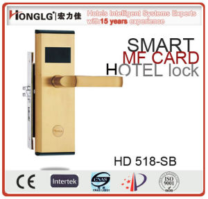 High Quality and Multifunction Hotel Mifare One Card Lock (HD518) pictures & photos