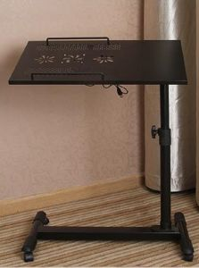 Movable Adjustable Height Computer Stand Laptop Desk Cart pictures & photos