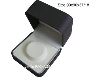 Chinese Factory of Chocolate Fake Leather Jewelry Gift Packaging Box for Necklace pictures & photos