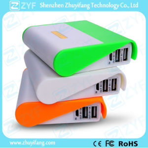 8800mAh Dual USB Port External Battery Mobile Phone Holder Power Bank (ZYF8082) pictures & photos