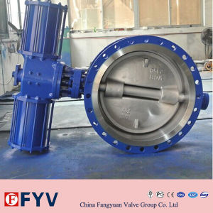 API6d Pneumatic Wafer Type Butterfly Valve pictures & photos