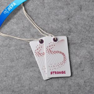 Elegant High Quality Custom Made Paper Swing Tag pictures & photos