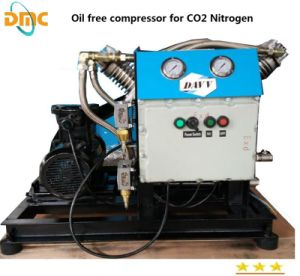 Oil Free Compressor for Air, Nitrogen, CO2, Biogas, Helium Gas pictures & photos