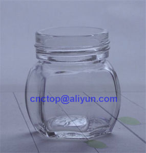 70ml Round Shape Food Jar Glass Bottle pictures & photos
