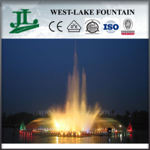Outdoor Music Fountain Built on The Lake or River pictures & photos