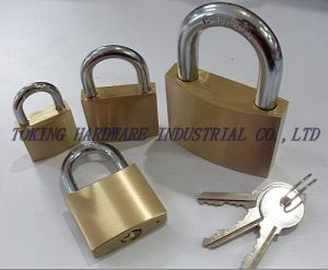 Heavy Duty Brass Padlock (1202) pictures & photos