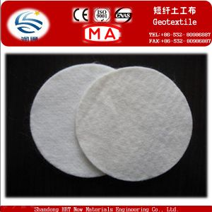 Export Shor Fiber Needle Punched Pet Geotextile pictures & photos