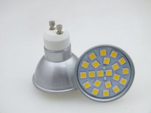 New GU10 21 PCS 5050 SMD 3W High Power LED Spot Light Bulb pictures & photos