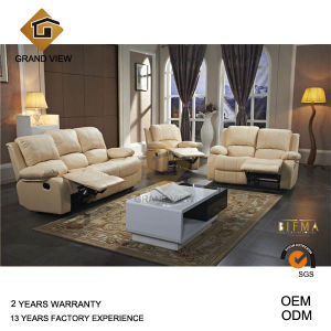 White Leather Recliner Living Room Sofa (GV-RS898) pictures & photos