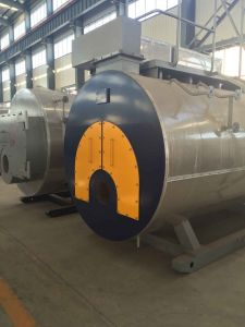 Wns, Lhs Vertical Oil (gas) Fired Steam Boiler on Hot Sale! pictures & photos