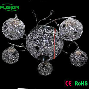 Handcraft Crystal Chandelier Ceiling Light Unique Design (X-9437/5+1) pictures & photos