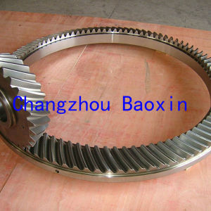 Oil Drilling Rig Right Angle Helical Gear pictures & photos