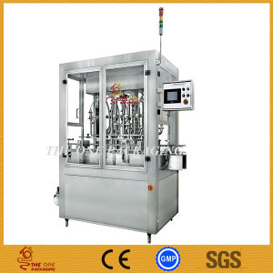 Full Pneumatic Double Heads Cream Paste Filling Machine, Double Head Filler, Ointment Filling Machine pictures & photos