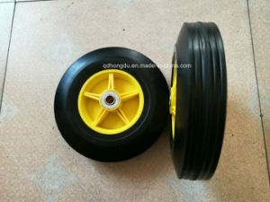 High Quality Rubber Semi-Pneumatic Wheelbarrow Wheel pictures & photos