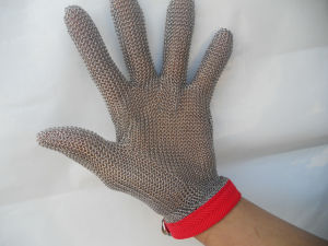Stainless Steel Wire Mesh Gloves pictures & photos