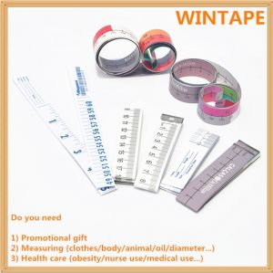 Health Care Disposable Body/Bra Centimeter Obesity Paper Tape Measure for Losing Weight pictures & photos