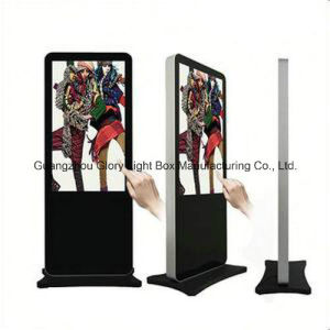 55′′ Panel LCD Touch Screen Standing Monitor pictures & photos