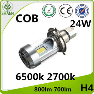 M4 H4 24W COB Motorcycle LED Headlight pictures & photos
