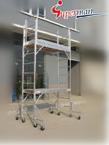 12ft. Aluminum Mobile Scaffolding with CE pictures & photos
