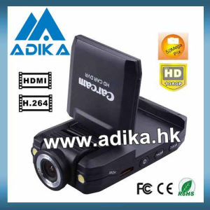 1080p Night Vision Car DVR with Rotatable Screen & Lens (ADK-C138C)