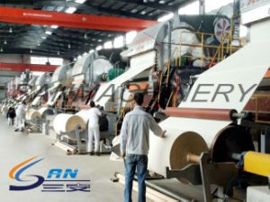 Tissue Making Plant Automatic Toilet Paper Making Machine pictures & photos