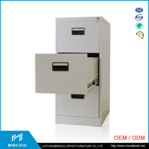 China Supplier 3 Drawer File Cabinet / Metal Drawing File Cabinet pictures & photos