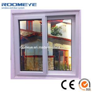 Economic White PVC Sliding Windows pictures & photos