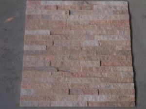 Hot Sell Pink Quartzite Stack Stone (SSS-102) pictures & photos