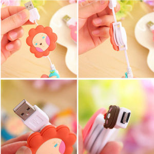 Cartoon USB Data Cables for iPhone5/5s