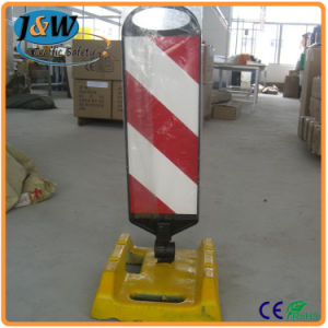 Traffic Panel Delineator Board Delineator Bollard with Rubber Base pictures & photos