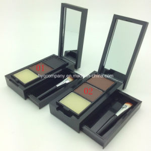Menow Eye Brow Makeup Kit Waterproof Eyebrow Powder Kit with Brush 2 Colors pictures & photos