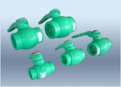 Plastic Pipe Fitting Mould Ball Valve (HJ-MODE-002)