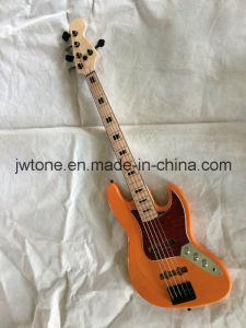 Black Neck Binding Jazz Electric Bass Guitar pictures & photos