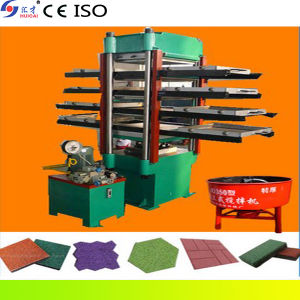 Rubber Tile Hydraulic Press Machine pictures & photos