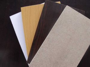 ISO9001: 2000 Standard Melamine Particle Board with Competitive Price (20mm)