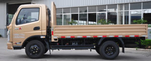 Waw Flatbed Cargo Light Truck A1-Series 4*2 pictures & photos