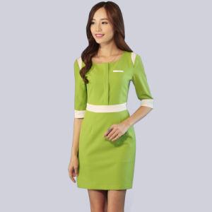Bespoke Fashion Women Beautician Uniform pictures & photos