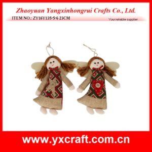Christmas Decoration (ZY16Y135-5-6 23CM) Christmas Angel Gift Item Angel Wings pictures & photos