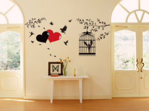 Caged Bird Wall Sticker (TP-050)