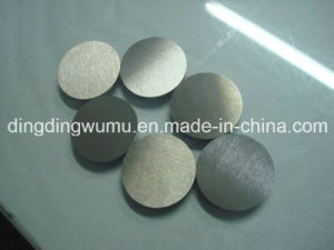 Pure Tungsten Disk pictures & photos