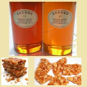 Food Additives Transparent Soya Bean Lecithin Fluid Non -GMO pictures & photos